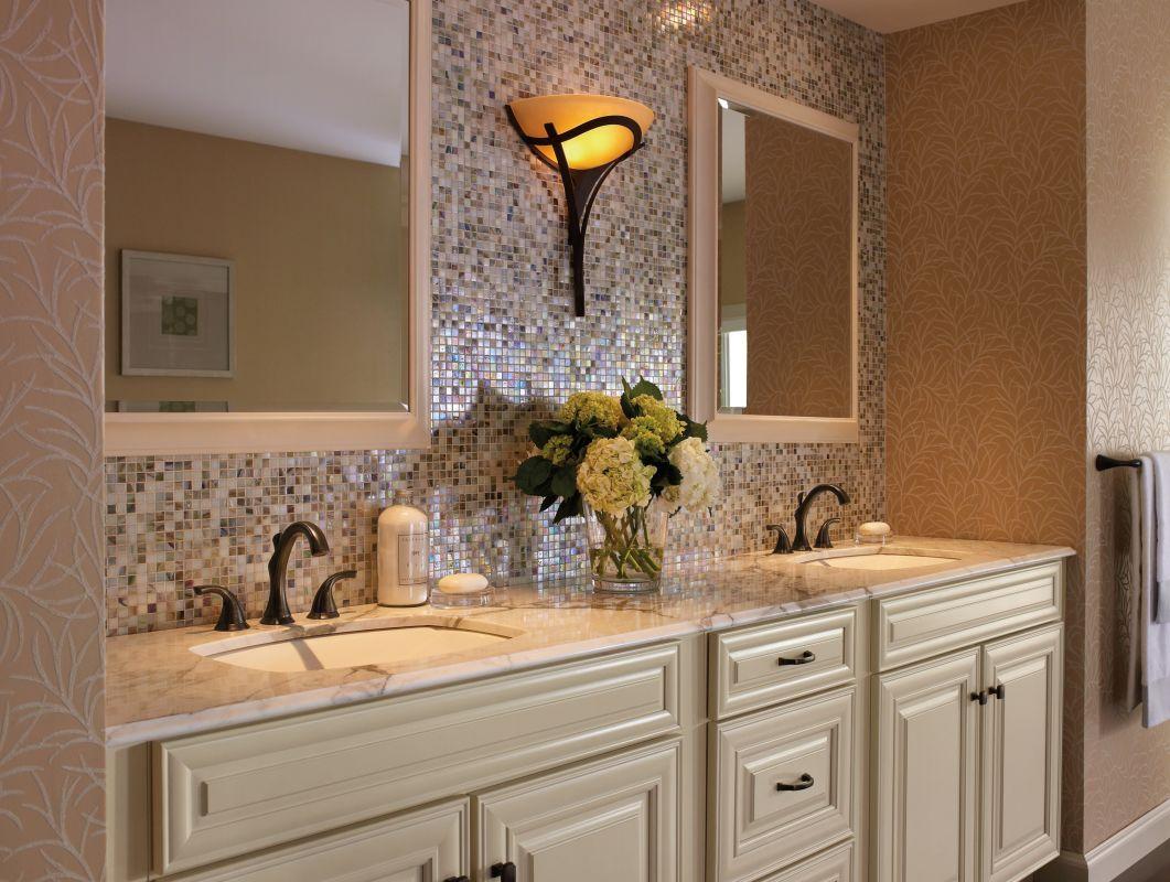 Faucetcom LFCZ In Champagne Bronze By Delta - Champagne bronze bathroom faucet for bathroom decor ideas
