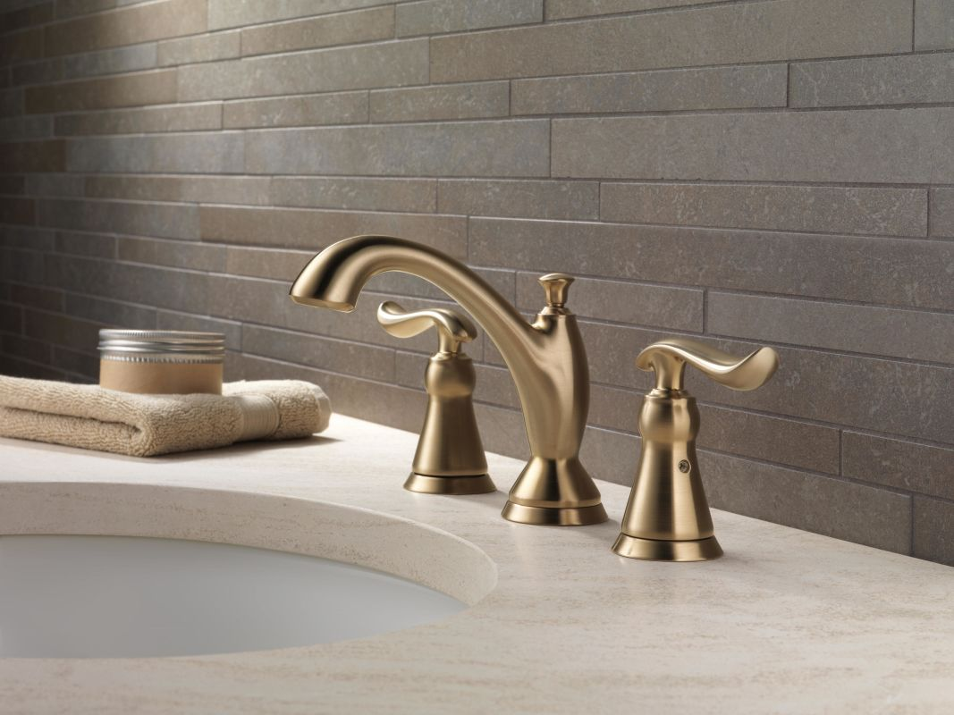Faucet Com 3594 Czmpu Dst In Champagne Bronze By Delta