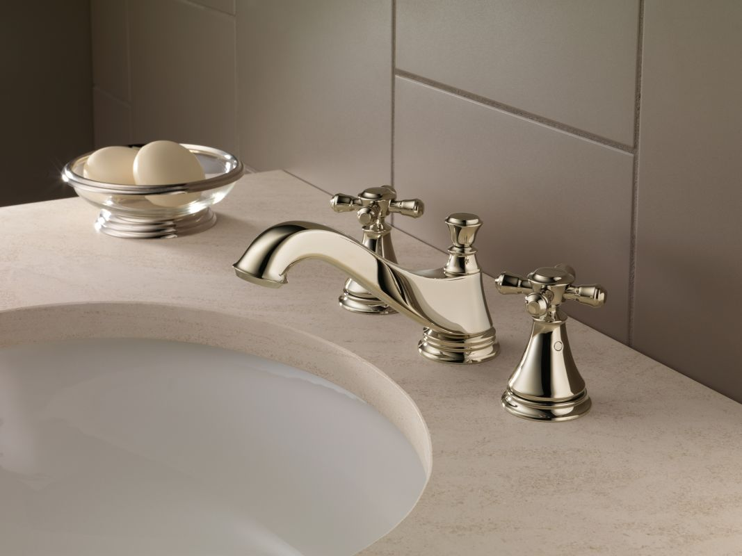 faucet com 3595lf pnmpu lhp in brilliance polished nickel by delta offer ends