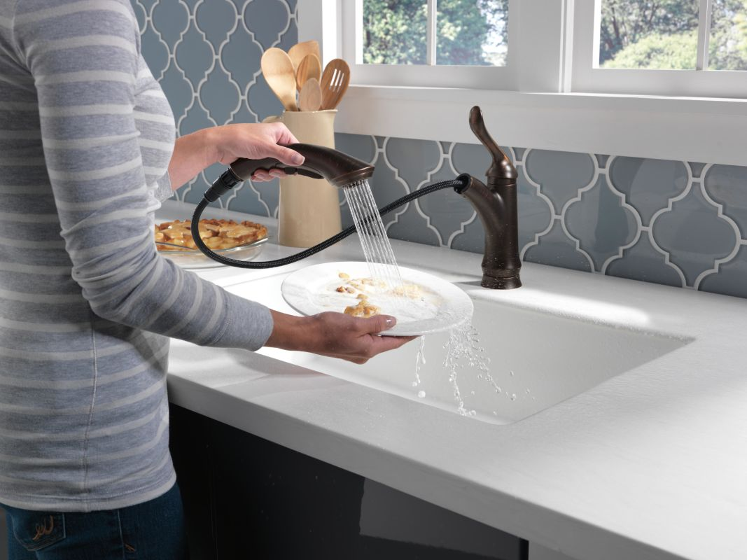 f delta linden kitchen faucet Take