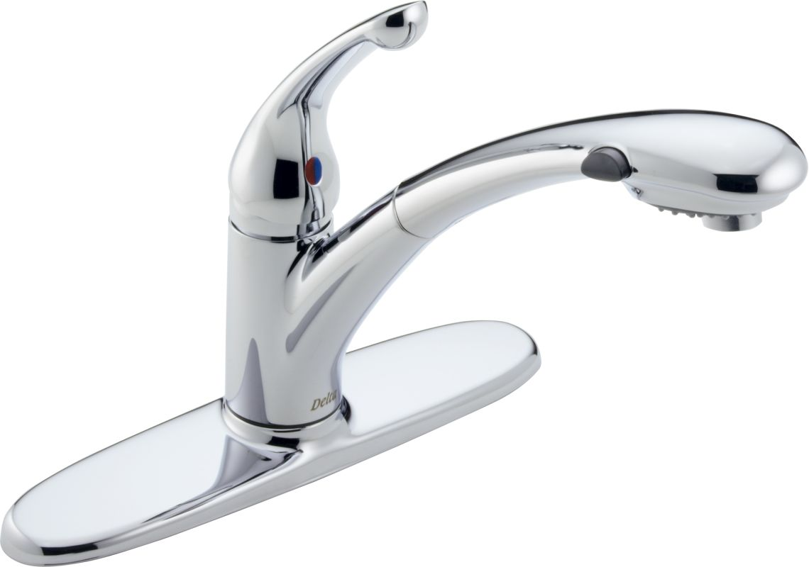 Faucet.com | 470-WH-DST in White by Delta