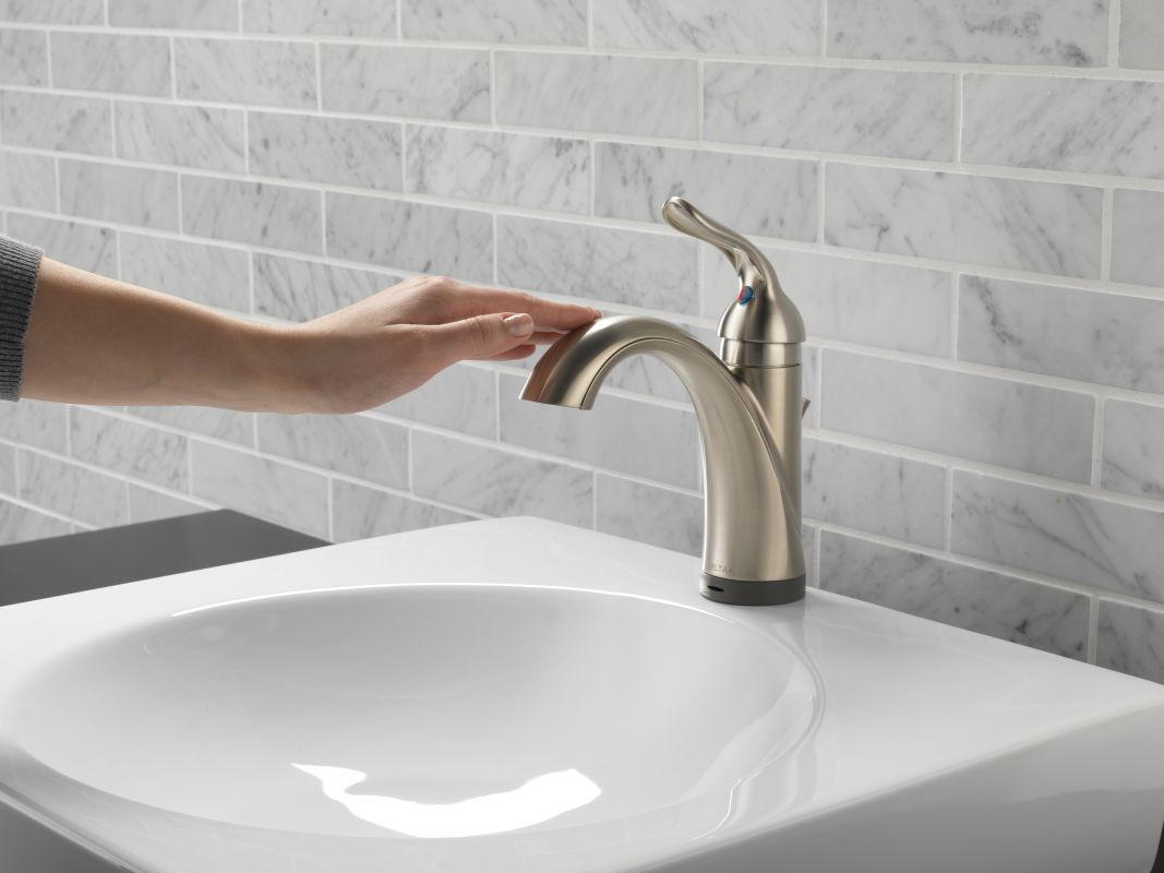 Bathroom Faucet Base Plate faucet | 538t-ss-dst in brilliance stainlessdelta