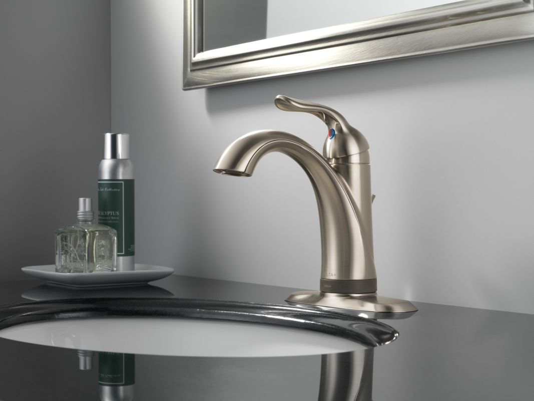 Bathroom Faucet Escutcheon Plate faucet | 538t-ss-dst in brilliance stainlessdelta