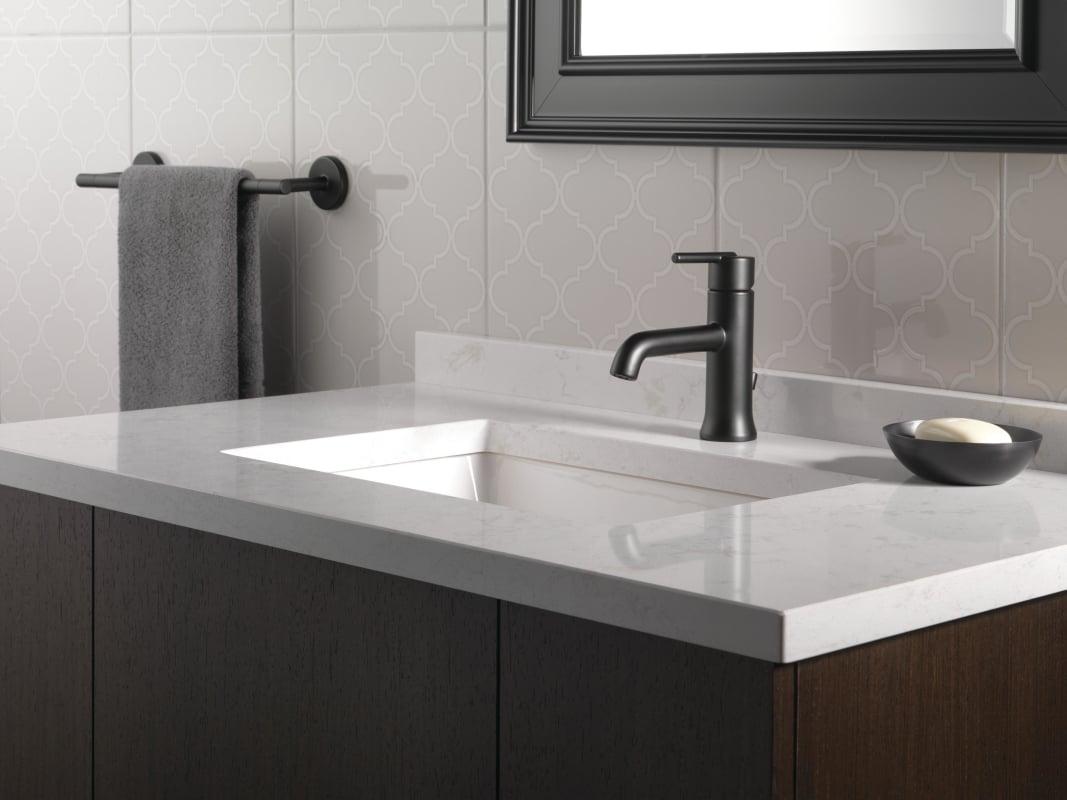 Faucet Com 559lf Blmpu In Matte Black By Delta
