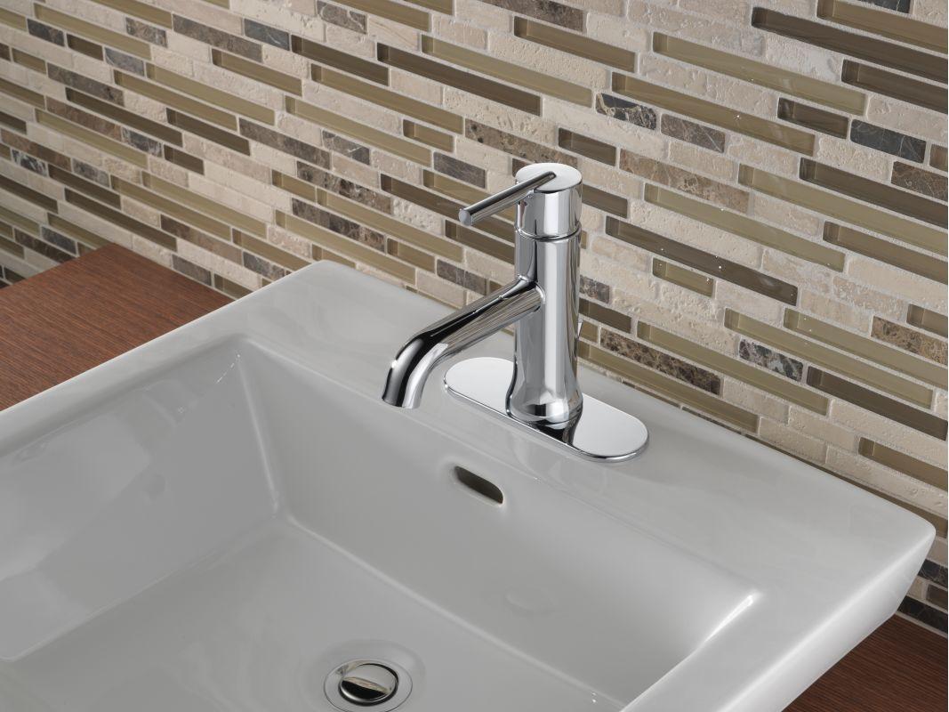 Faucetcom LFCZMPU In Champagne Bronze By Delta - Champagne bronze bathroom faucet for bathroom decor ideas