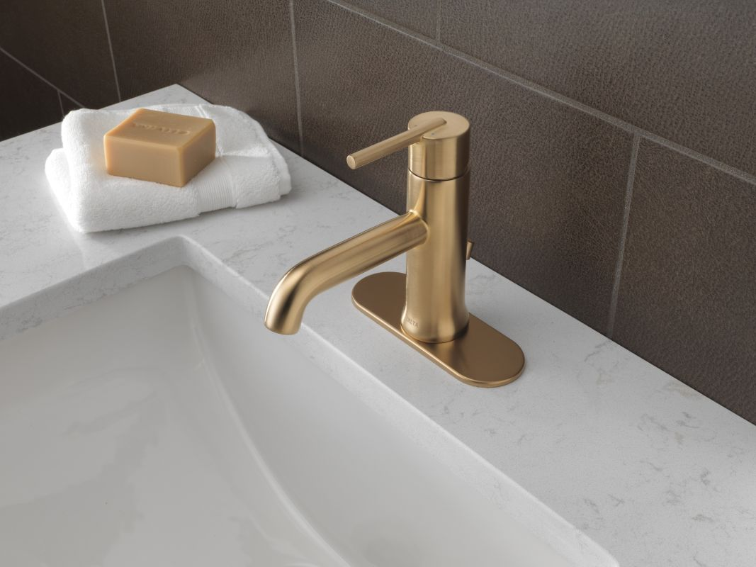 Faucet Com 559lf Czmpu In Champagne Bronze By Delta