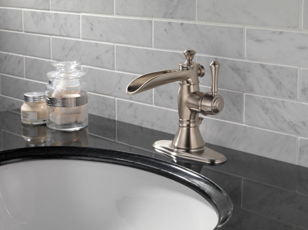 Bathroom Faucet Base Plate faucet   598lf-rbmpu in venetian bronzedelta