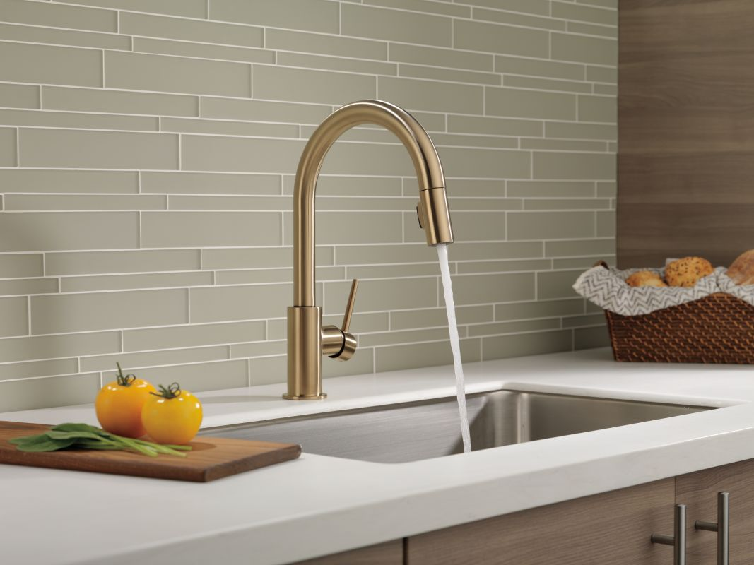 Faucet.com | 9159-CZ-DST in Champagne Bronze by Delta