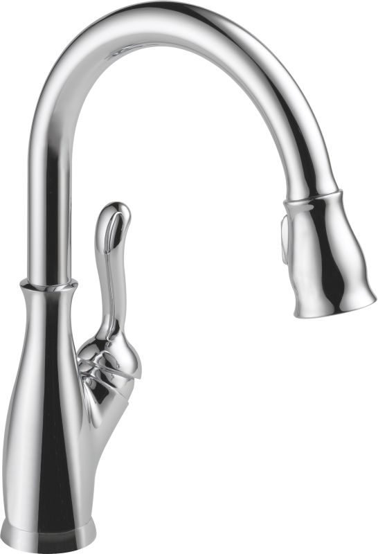Delta 9178 Dst Chrome Leland Pull Down Kitchen Faucet With