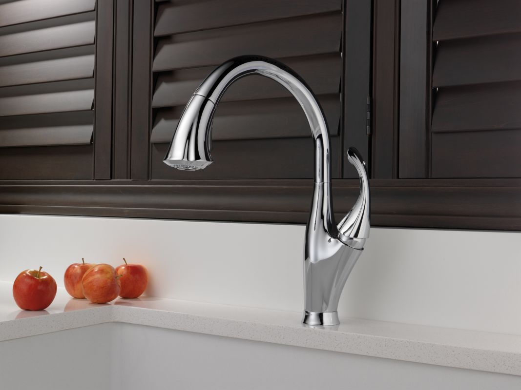faucet com 9192 ar dst in arctic stainless by delta