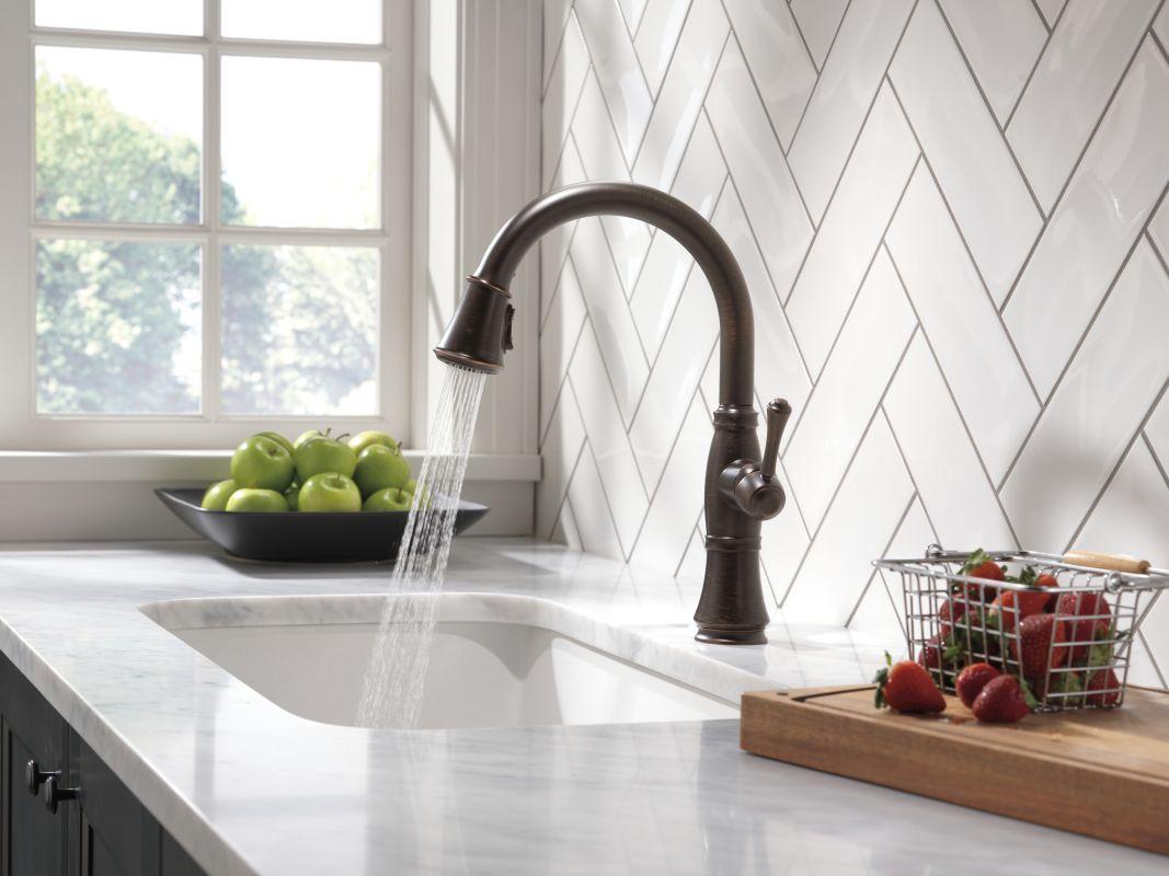 Delta Kitchen Faucet Bronze faucet | 9197-rb-dst in venetian bronzedelta