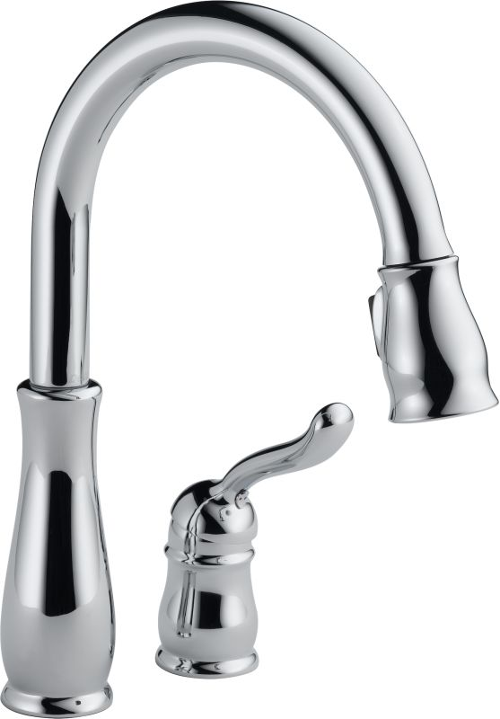 Delta 978 Dst Chrome Leland Pull Down Kitchen Faucet With