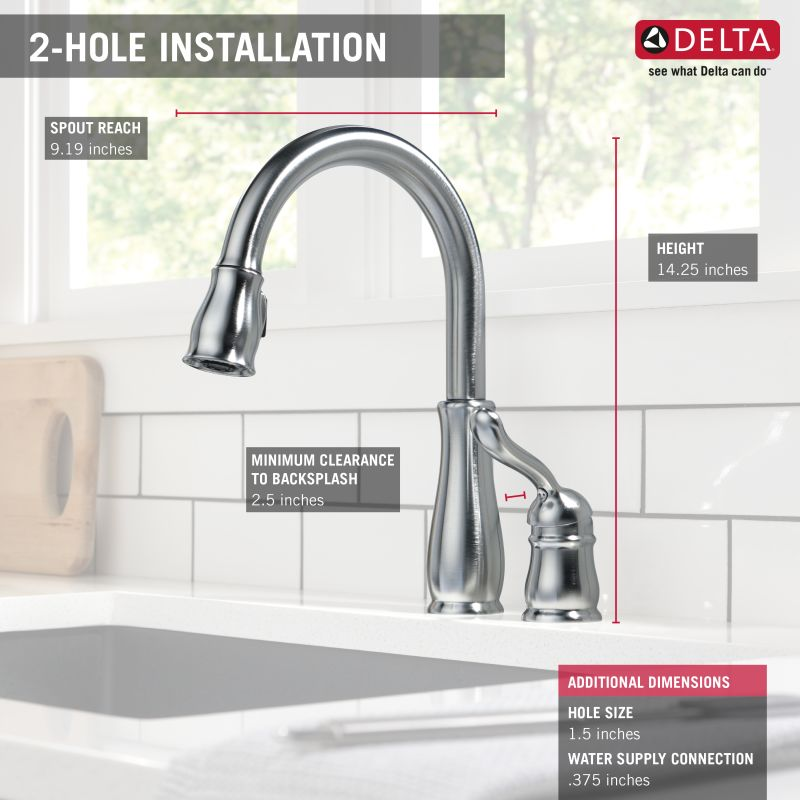 product installation kitchen faucet delta - Www.art-student.us