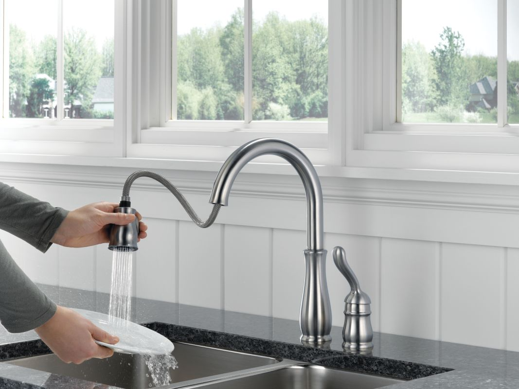 Delta Grail Kitchen Pulldown Faucet