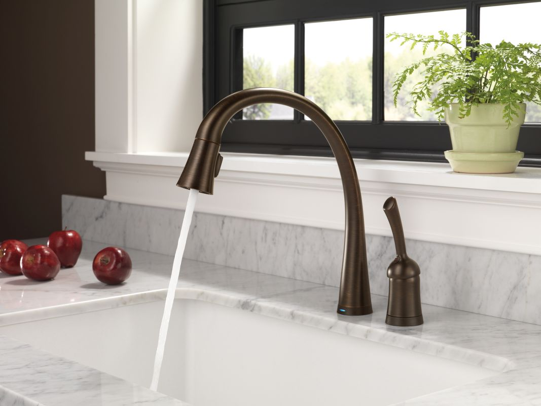 Faucet.com | 980T-AR-DST in Arctic Stainless by Delta