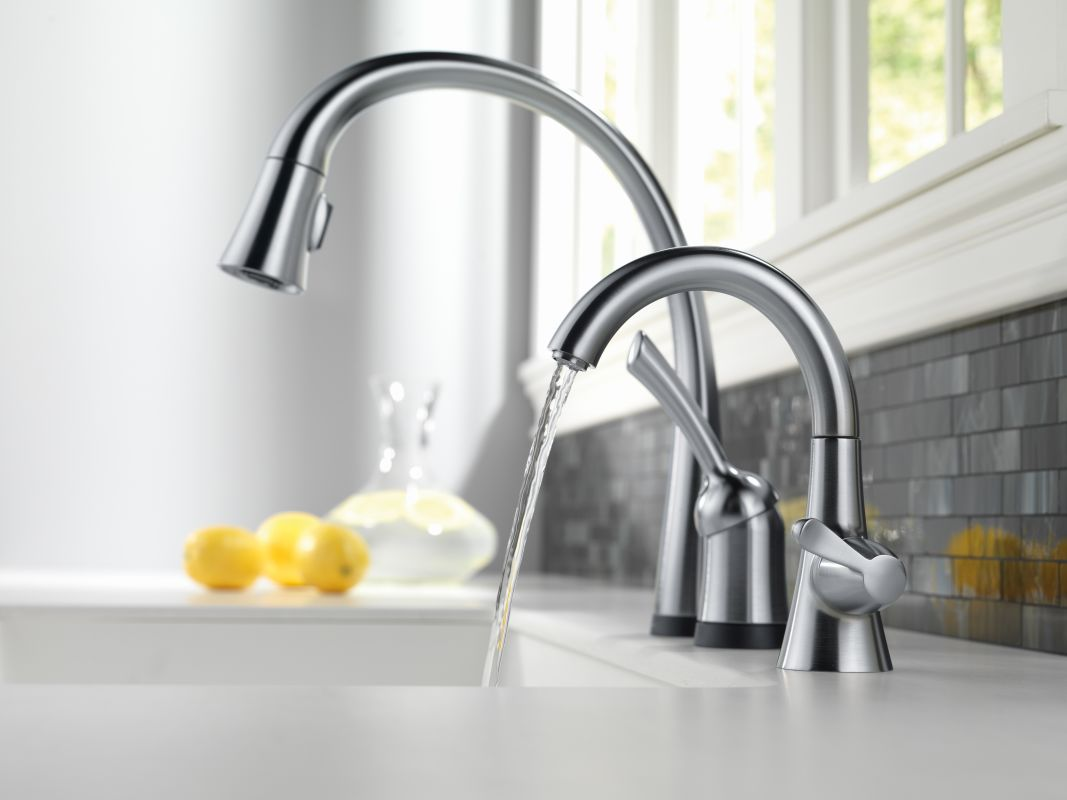Faucet Com 980t Ar Dst In Arctic Stainless By Delta