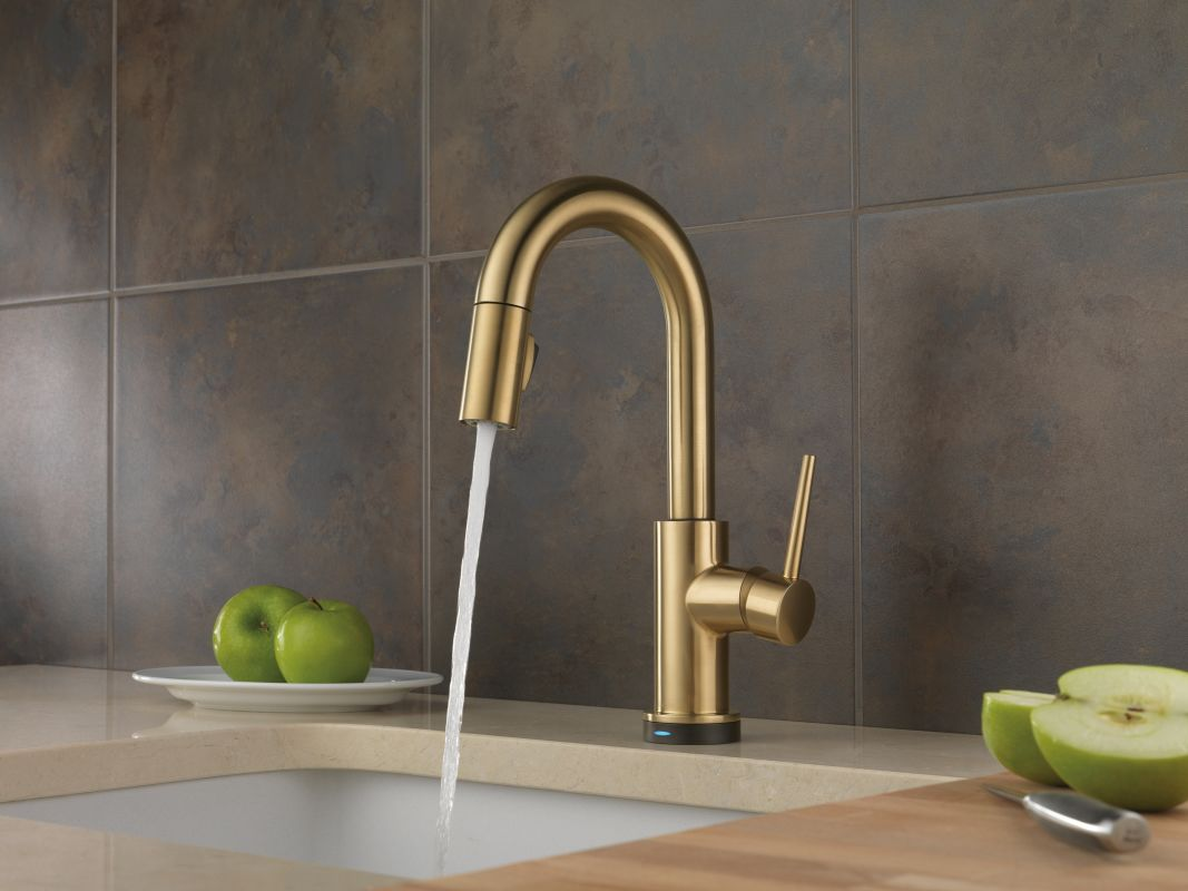 Faucet.com | 9959T-CZ-DST in Champagne Bronze by Delta