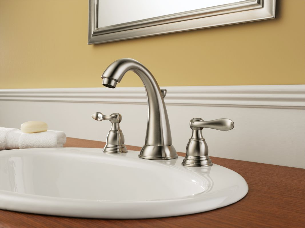Glacier Bay Kitchen Faucets Parts Faucet Com B3596lf Ss In Brilliance Stainless By Delta