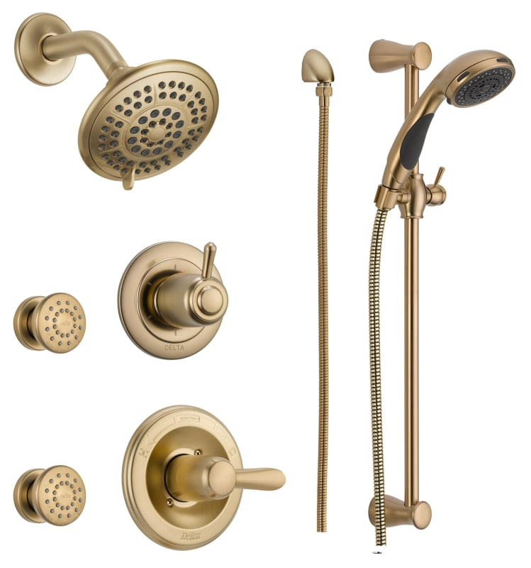 Dss Lahara 1403cz In Champagne Bronze By Delta