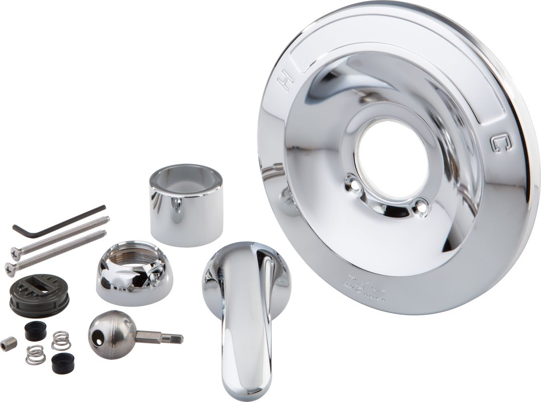 delta rp54870 chrome 600 series tub and shower renovation kit