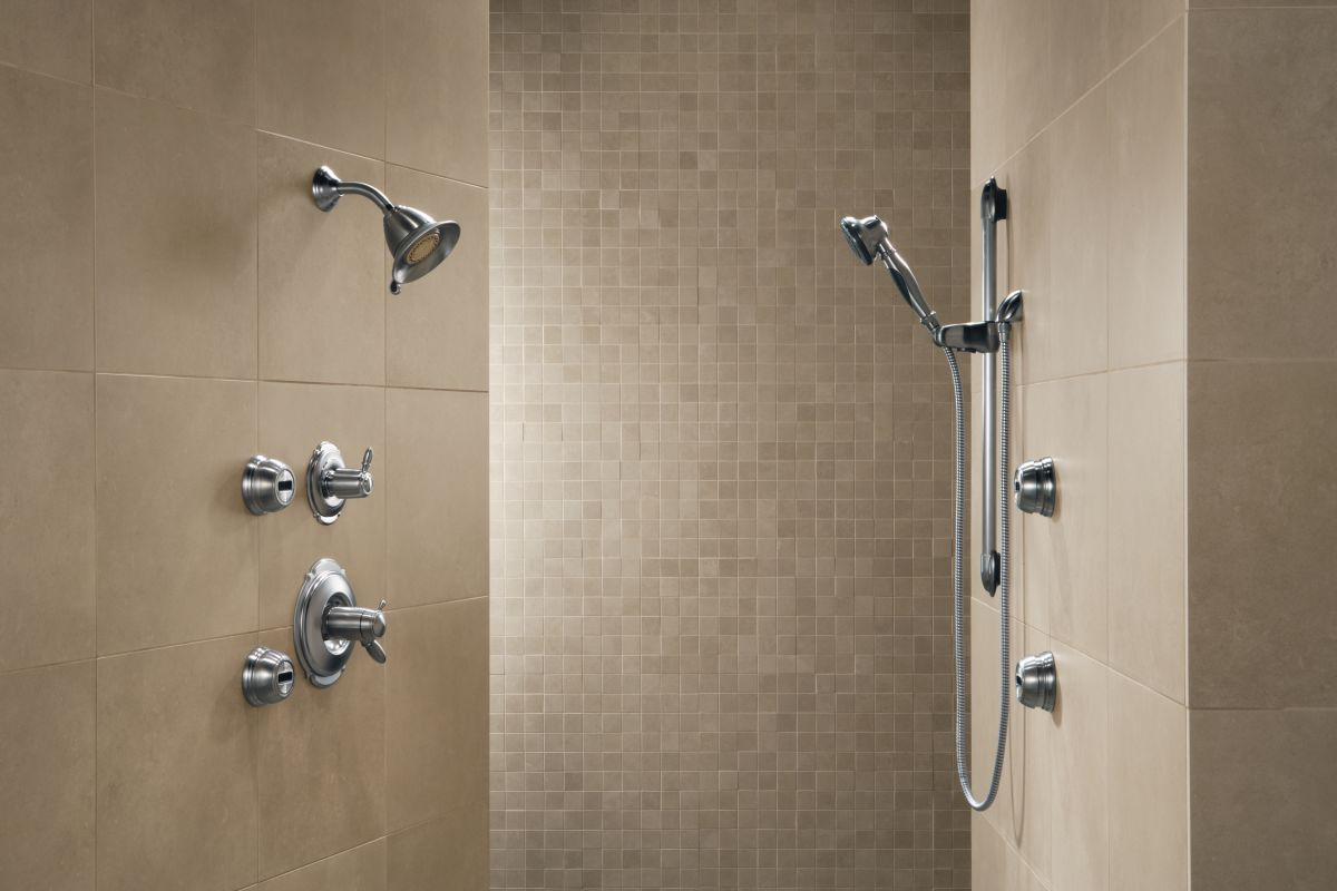 Delta Shower System With Slide Bar Full Size Of