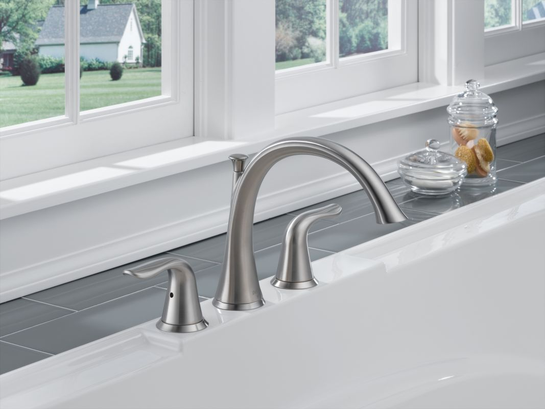 lahara roman tub faucet. Alternate View  Faucet com T2738 SS in Brilliance Stainless by Delta