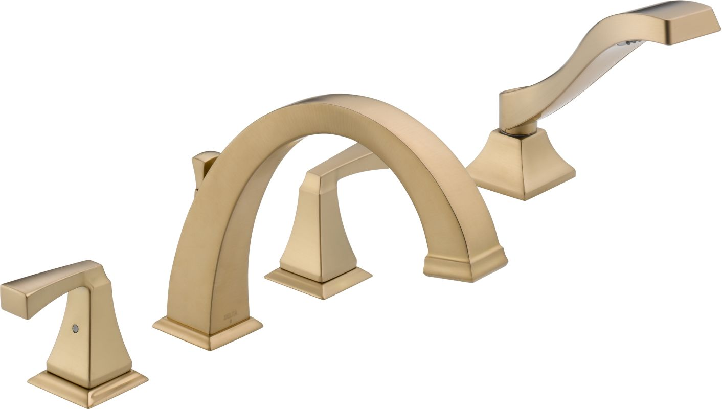 Faucet Com T4751 Cz In Champagne Bronze By Delta