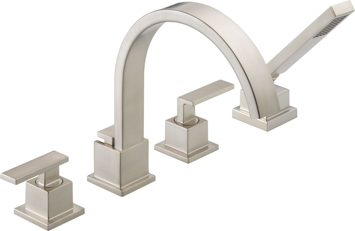 Faucet Com T4753 Ss In Brilliance Stainless By Delta