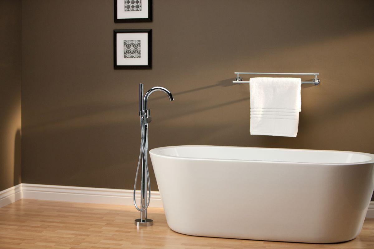 Faucet Com T4759 Blfl In Matte Black By Delta