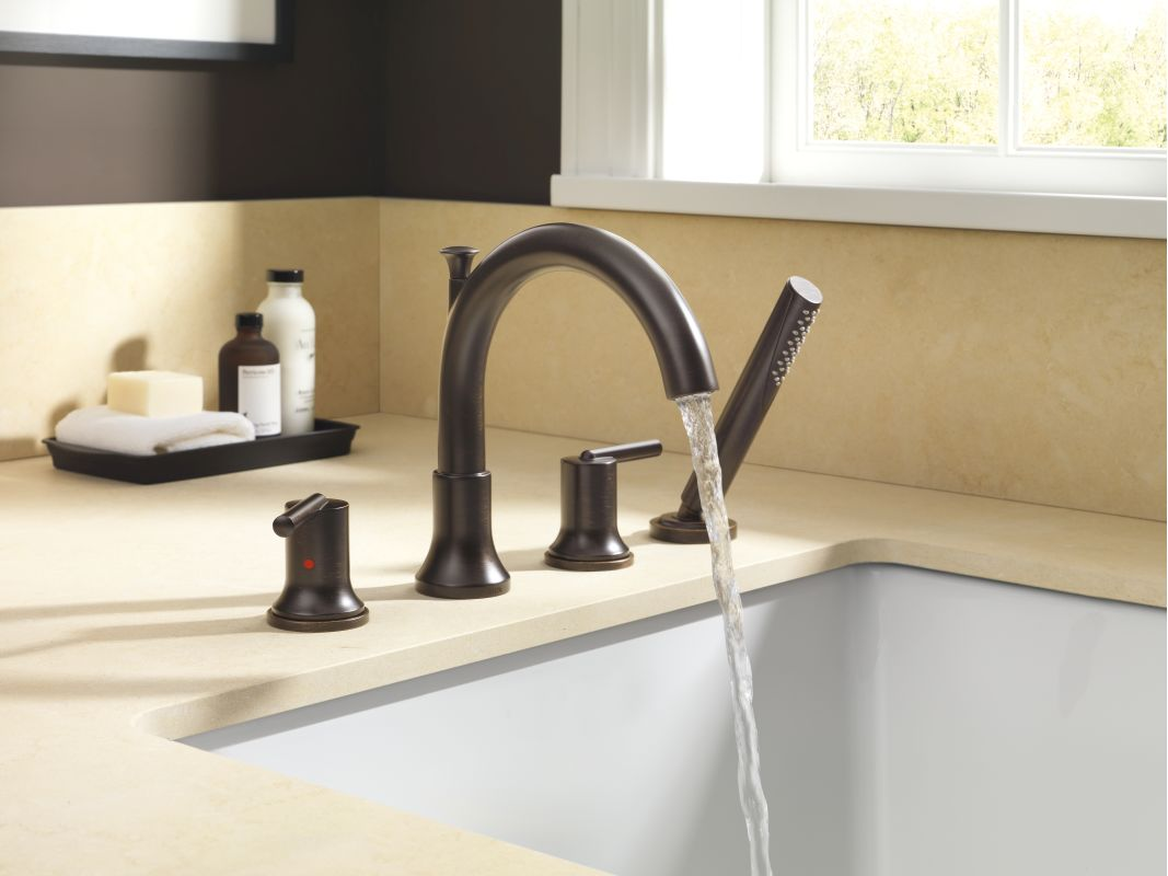 Faucet Com T4759 Cz In Champagne Bronze By Delta