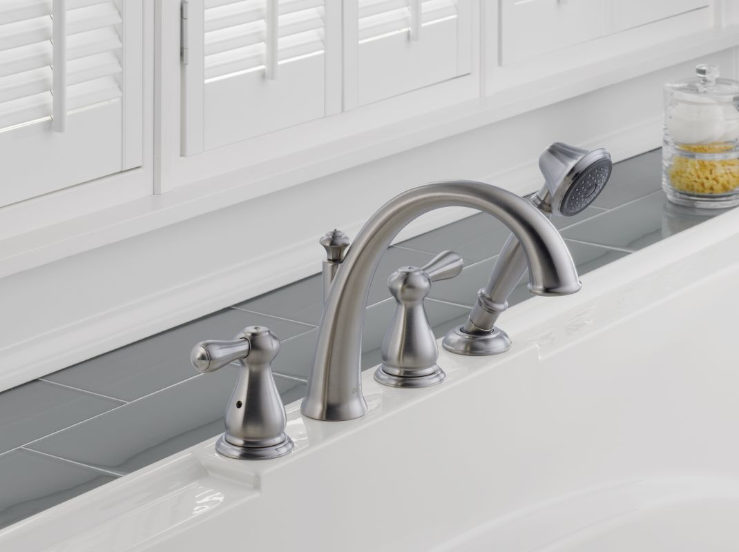 Faucet Com T4775 Ss In Brilliance Stainless By Delta