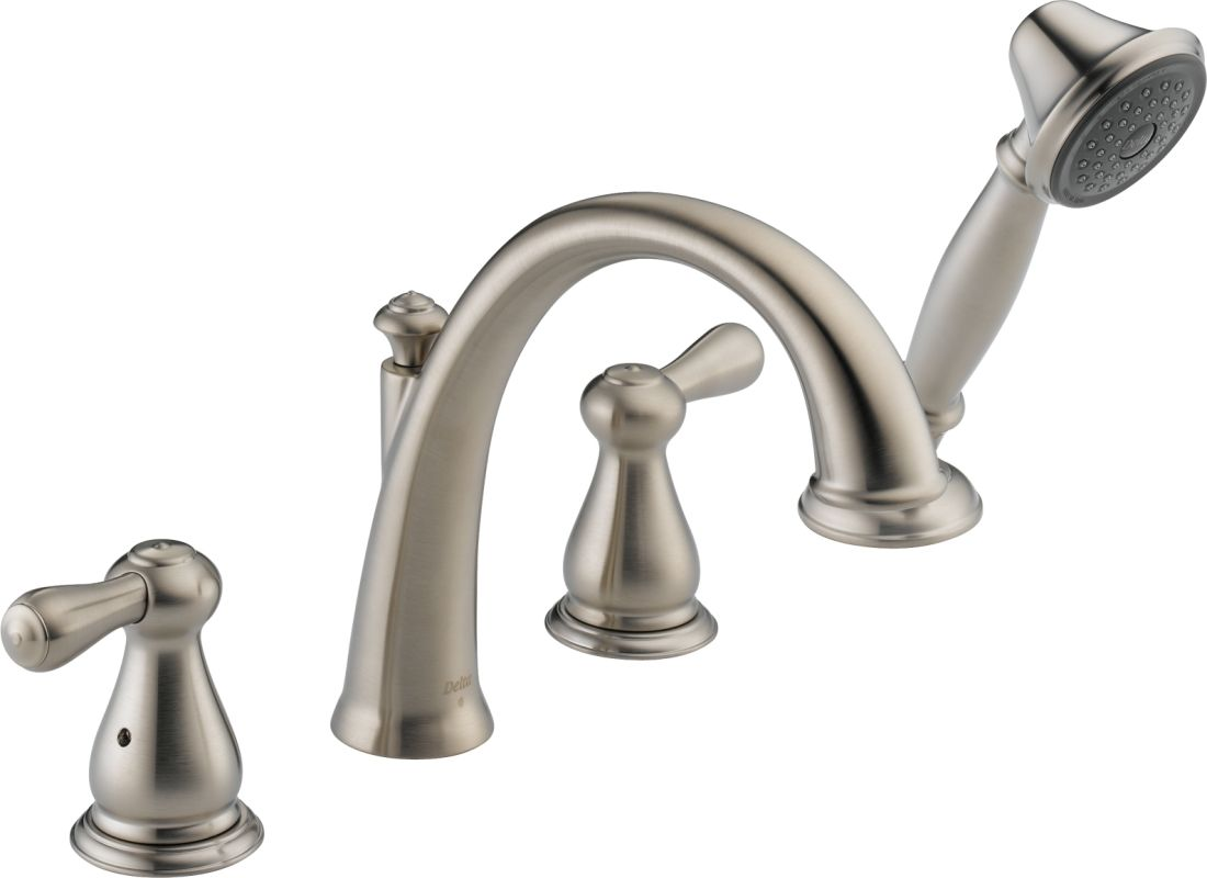 T4775 ss in brilliance stainless by delta for Delta bathroom accessories parts