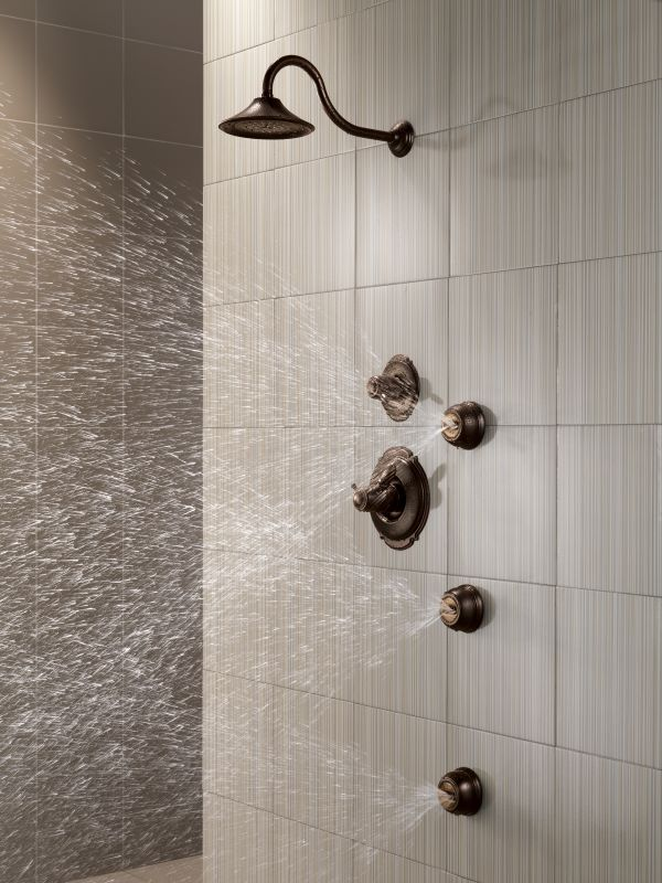 Faucet.com | Victorian TempAssure Shower Package SS in Brilliance ...