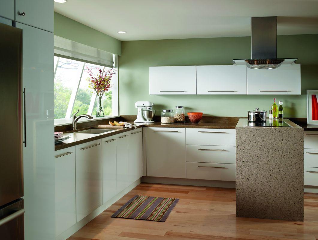 f delta linden kitchen faucet Application Shot