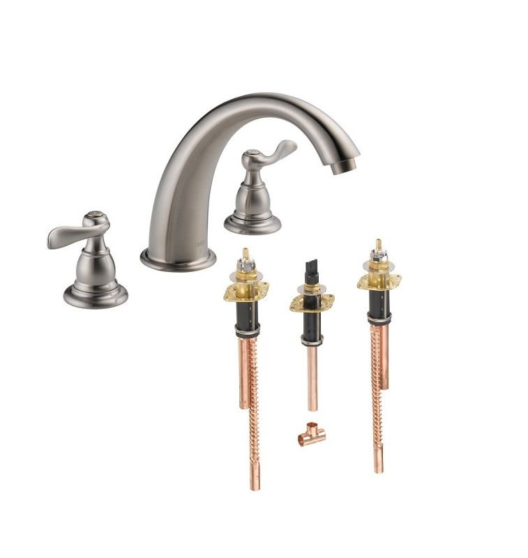 Faucet Com Bt2796 Ss R2707 In Brilliance Stainless By Delta