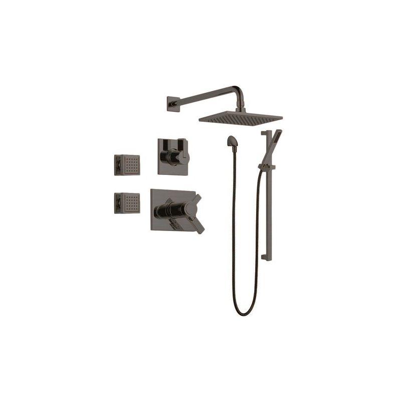Slide Bar Shower Head System Build Com