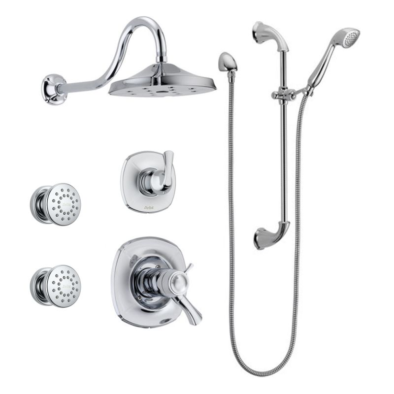 Delta Addison Tempassure Shower Package Ch Chrome With