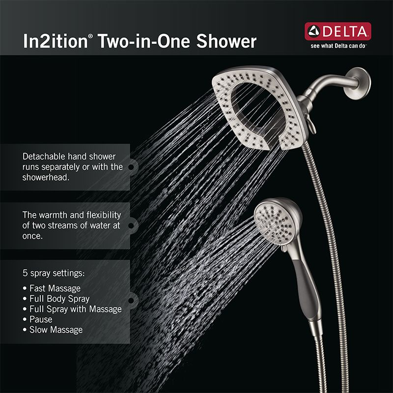 Faucet.com | 58472-SS in Brilliance Stainless by Delta