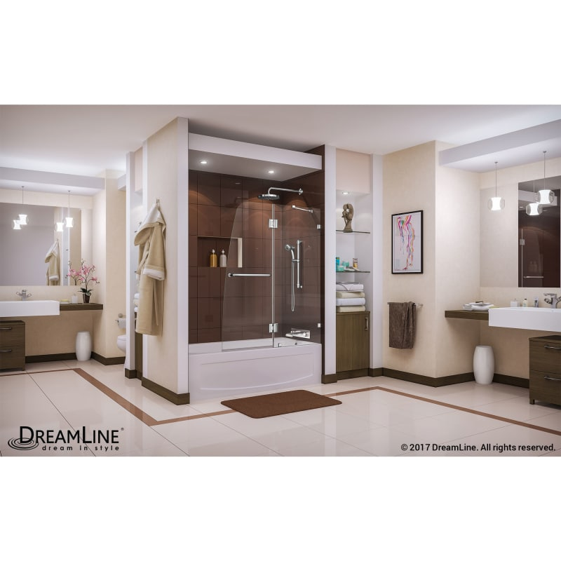 Faucet Com Shdr 3348588 04 In Brushed Nickel By Dreamline
