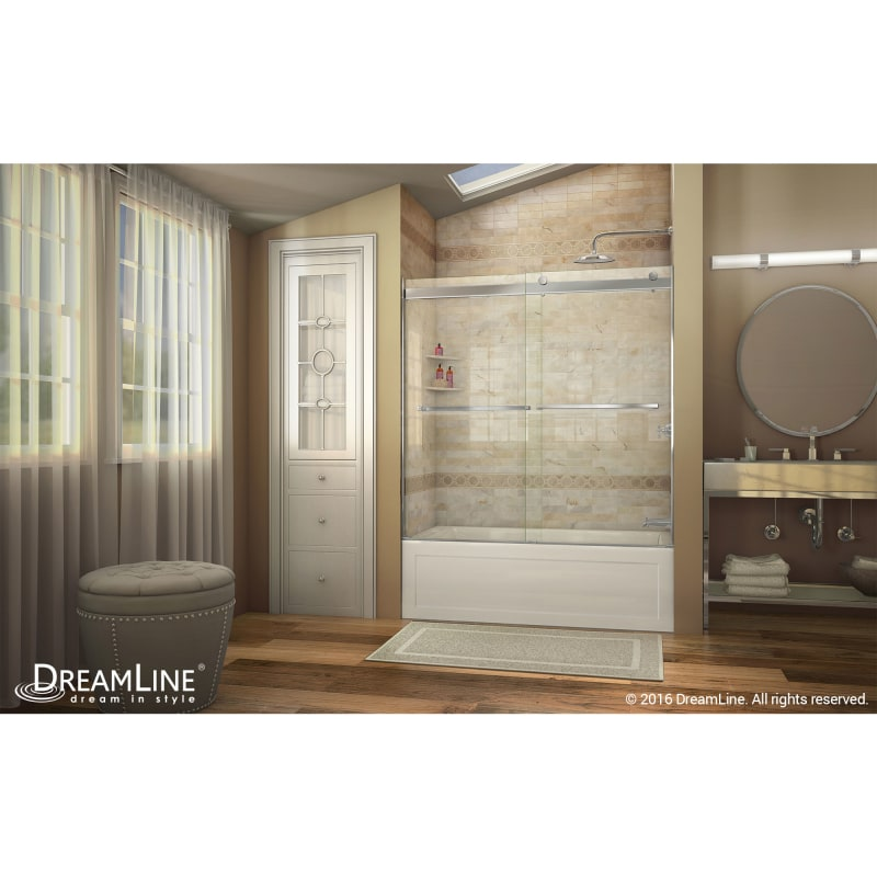 Faucet Com Shdr 6360600 04 In Brushed Nickel By Dreamline