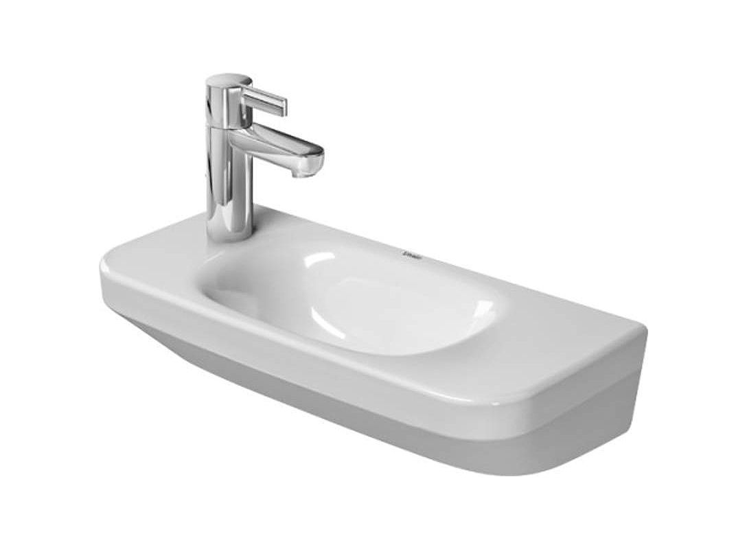 7 Faucet Finishes For Fabulous Bathrooms: 0713500008 In White By Duravit