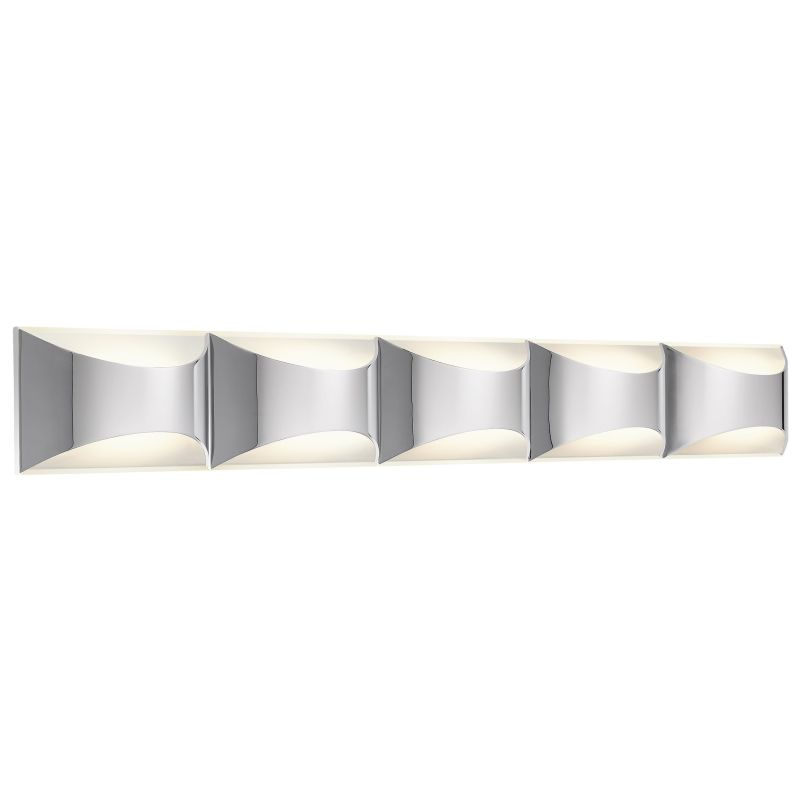 Extension For Vanity Light : Elan 83526 Chrome Adalynn Large Vanity Light - LightingDirect.com