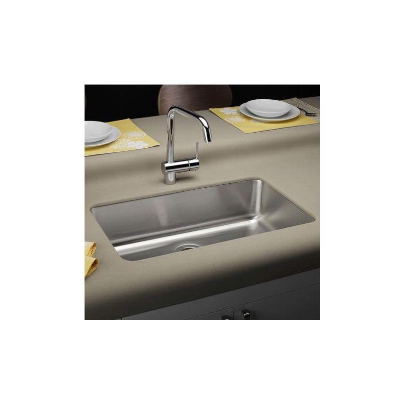 Faucet Com Elu281610 In Stainless Steel By Elkay