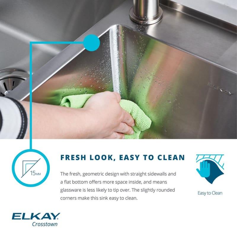 Faucet Com Efru2816 In Stainless Steel By Elkay
