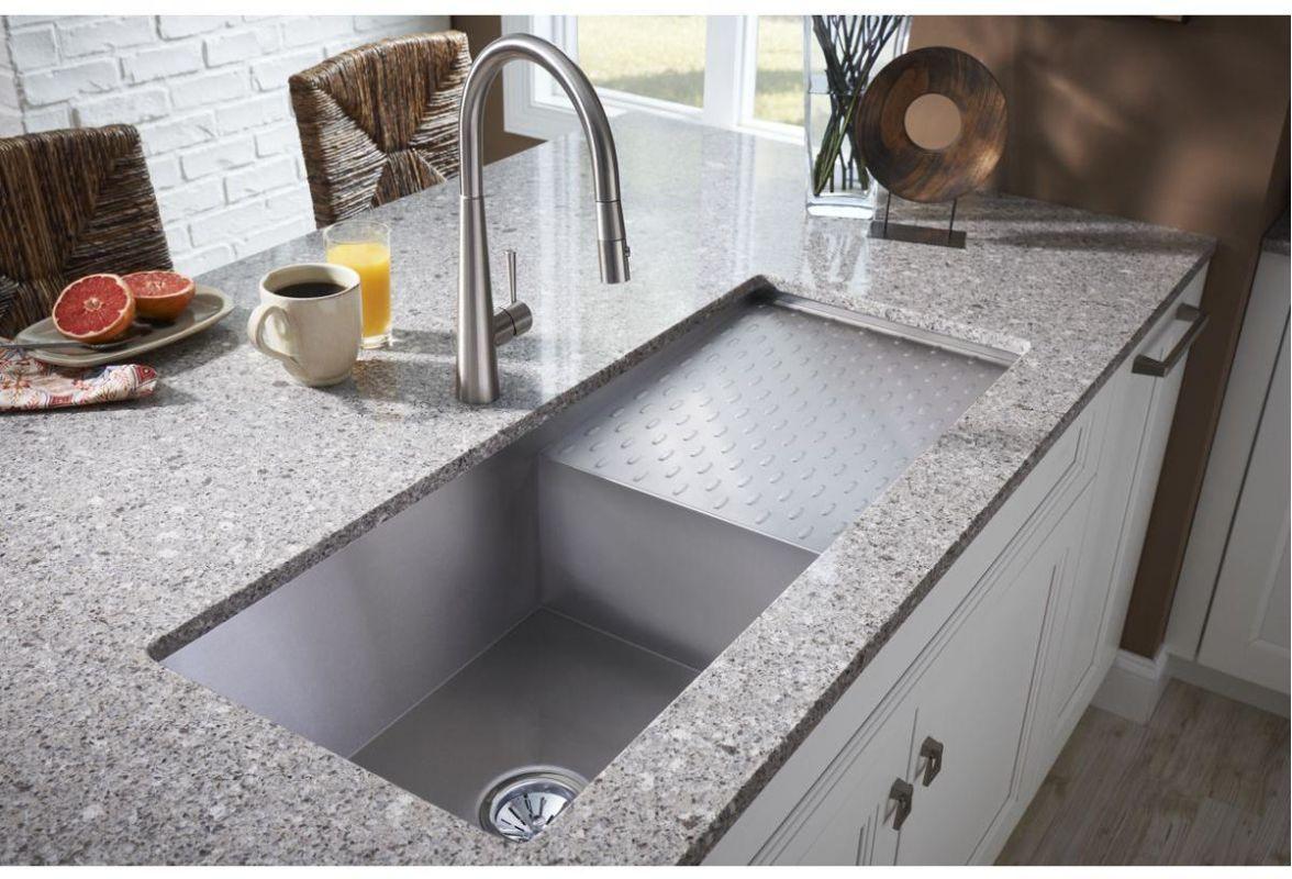 faucet | efu411510db in stainless steelelkay