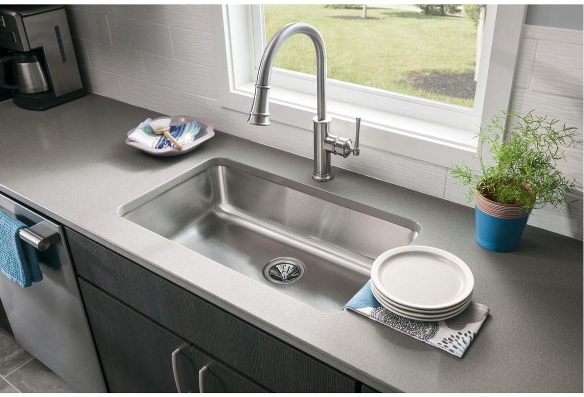 faucet | eluh2816 in stainless steelelkay