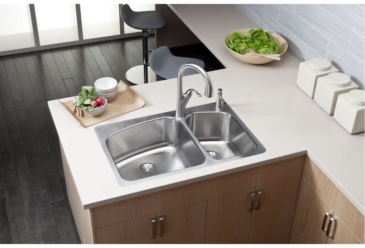 faucet com lkhsr2509rpd1 in 1 faucet hole by elkay