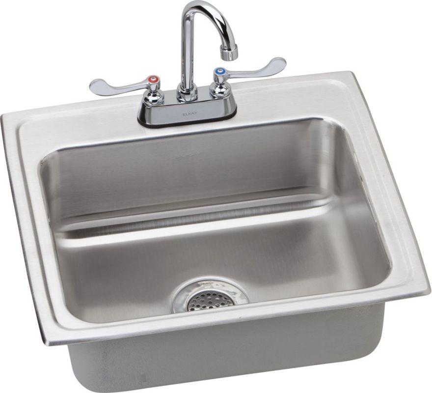 Faucet Com Lrad221960sc In Stainless Steel By Elkay