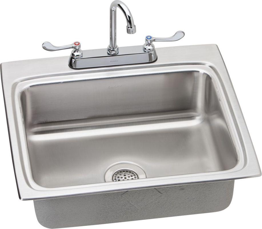 Faucet Com Lrad252265c In Stainless Steel By Elkay