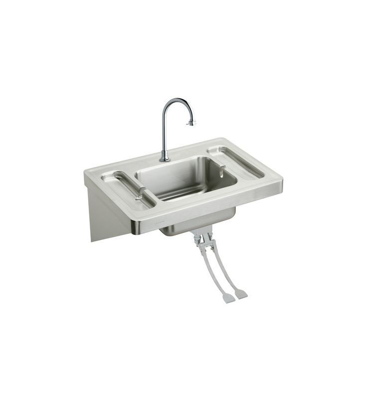 kitchen sink picture faucet eslv2820fc in stainless steel by elkay 2820